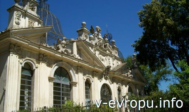 Парк виллы Боргезе. Casino dell'Uccelliera