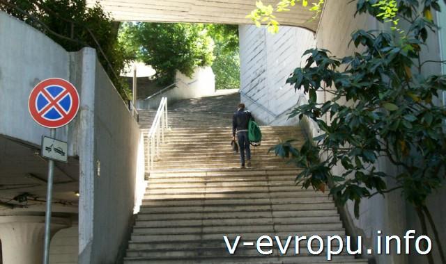 """Второй выход из метро """"Площадь Испании"""" тоже ведет к Галерее Боргезе"""
