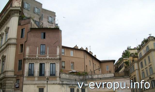 Рим для туристов: самые популярные районы города. Фото. Район продуктового рынка Кампо деи Фиори