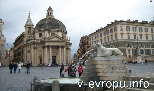 Церковь Санта-Мария-деи-Мираколи в Риме