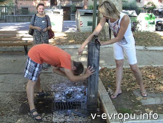 Живая встреча в Вероне 2013: Ваня не боялся испортить прическу