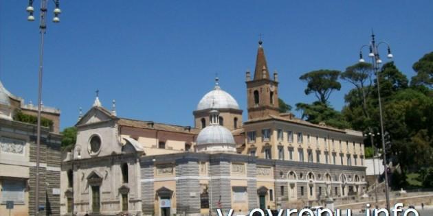 Фотографии церкви Санта Мария дель Пополо в Риме