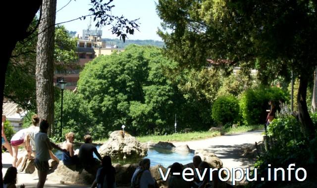 Сады Холма Пинчо в Риме