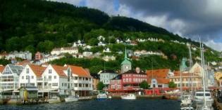 Путешествие в Норвегию через Барселону и Берлин