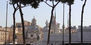 Поездка в Рим в августе
