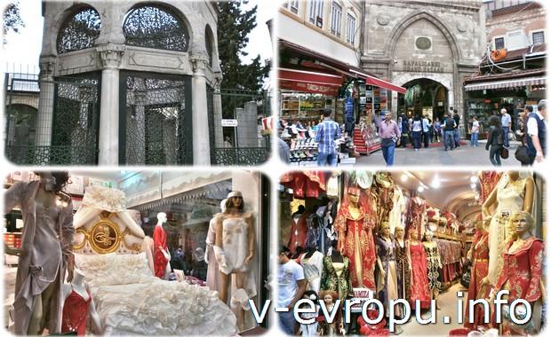 Стамбуле и городкой базар