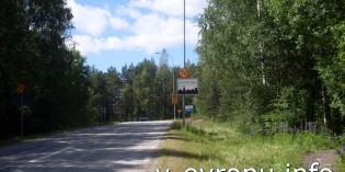 Приключение велосипедиста на старой шведской дороге