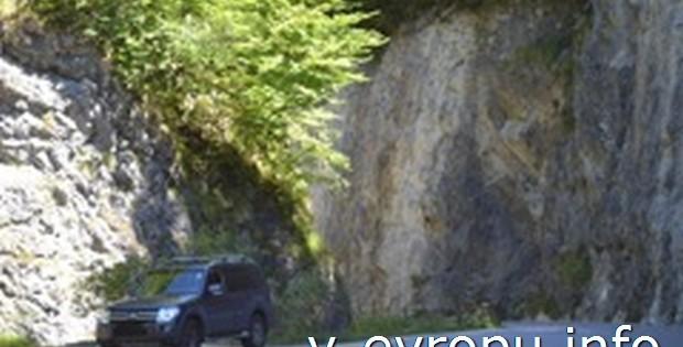 Путешествие в Австрию на машине с прицепом-трейлером