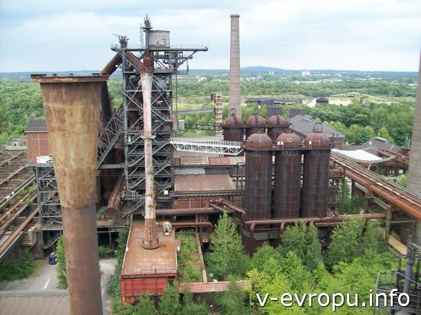 Бывший завод - это кинотеатр под открытым небом. Индустриальная культура в Рурской областьи