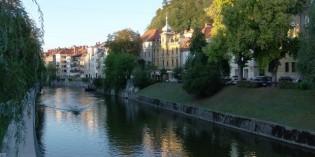 Как добраться до столицы Словении Любляны?