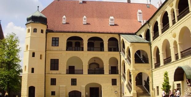 Замок Траусниц в городе Ландсхут