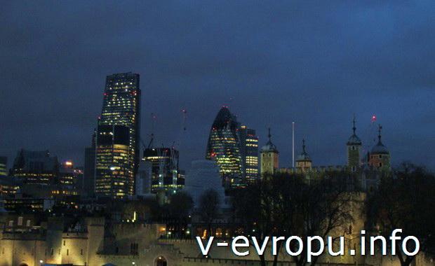 Путешествие в Лондон в декабре