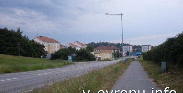 Турист-велосипедист о шведском городке Акерсберга