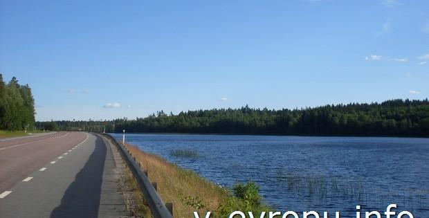 На велосипедных дорожках Швеции