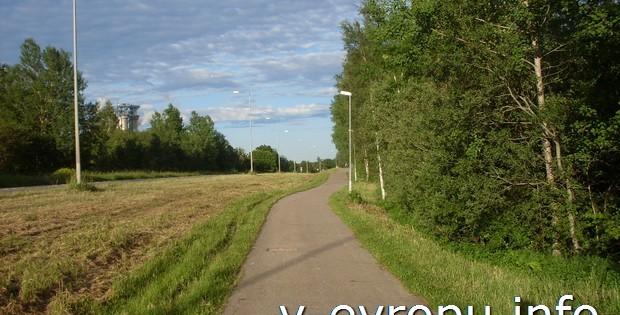 Отзыв вело туриста о шведском городе Евле