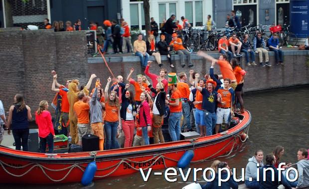 День Короля Голландии в 2014 году