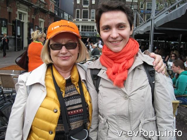 С Галиной мы познакомились на самой первой встрече в Дюссельдорфе в 2012 году