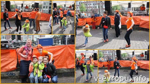 В Амстердаме танцуют все!
