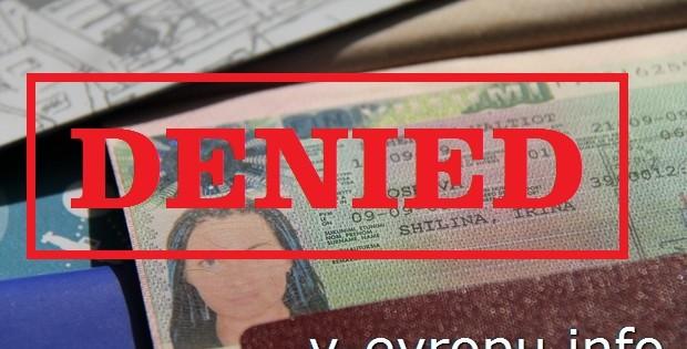 Особенности визового отказа в странах Шенгена