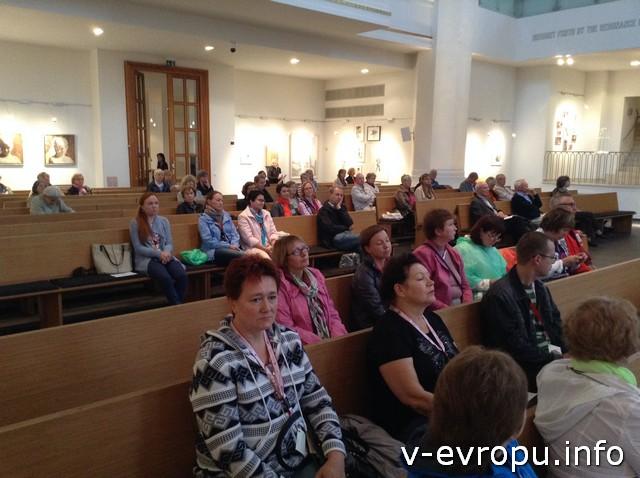 Вместо прогулки под дождем слушаем органный концерт в церкви