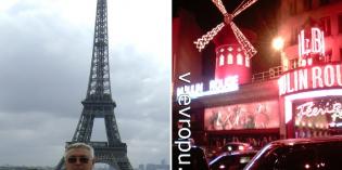 По Парижу пешком с картой