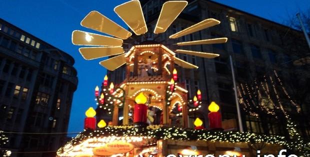 Новый год в Гамбурге