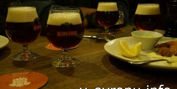 Пиво в Праге