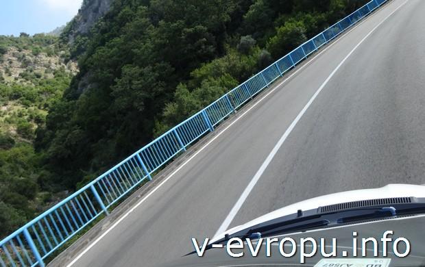 Европейские дороги