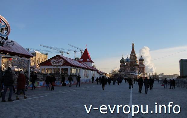 Красная площадь перед Новым