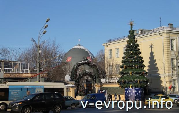 Купол Планетария в Москве