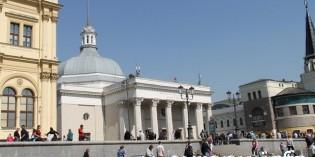 Выход к вокзалам из метро «Комсомольская»