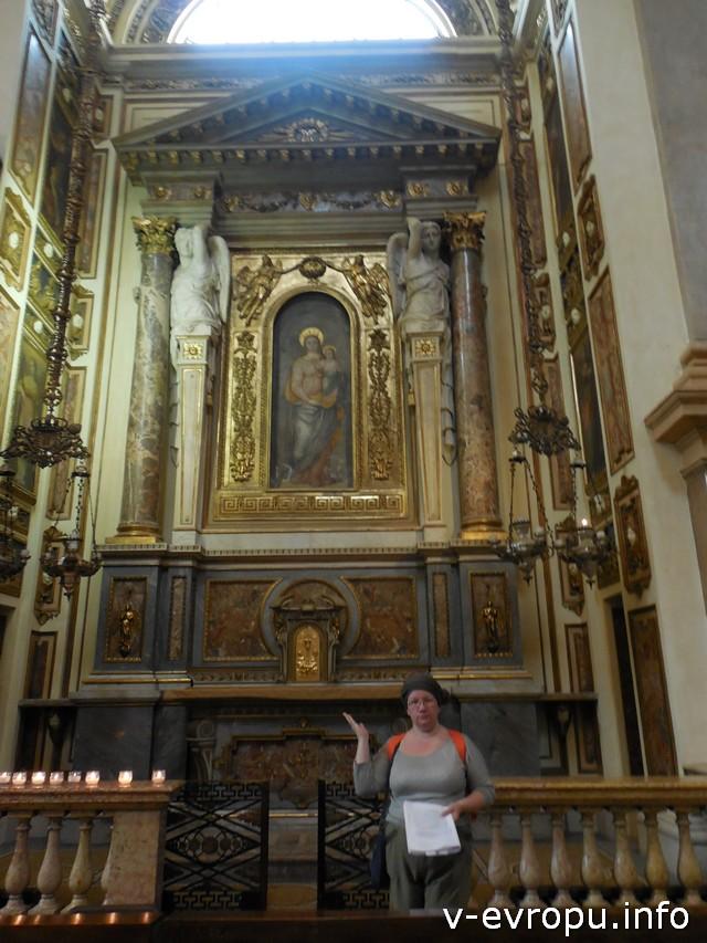 Наталья во время квеста нашла икону Девы Марии, которую видел своими глазами сам Леонардо!