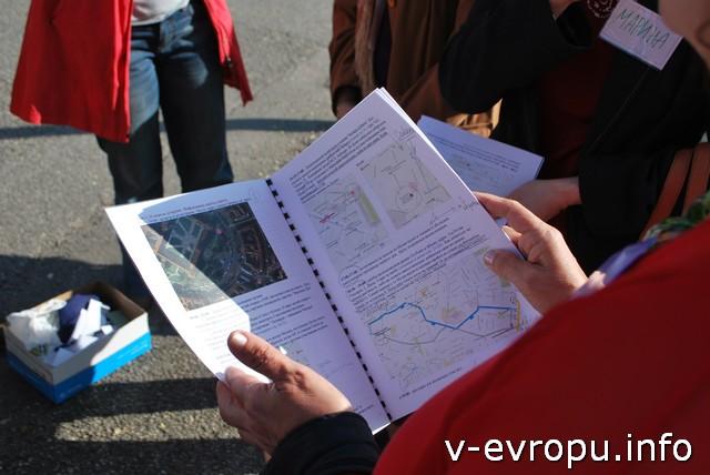 Каждой участник получил подробный план Живой Встречи, чтобы не потеряться в Милане