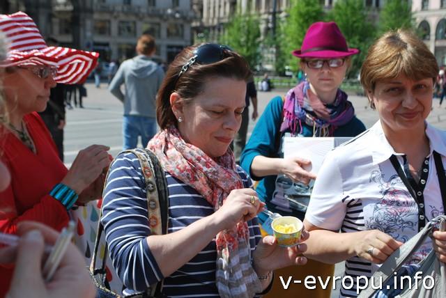 Татьяна, Ирина и Елена из Москвы впервые приехали на Живую Встречу