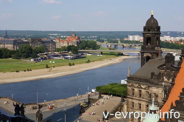 Дрезден. Вид со смотровой площадки