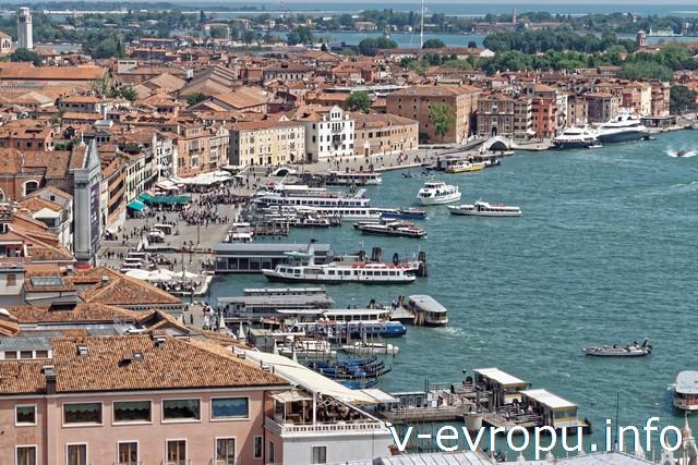Венеция. Вид с колокольни Сан-Марко