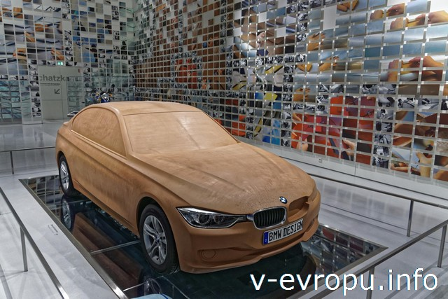 Мюнхен. Музей BMW