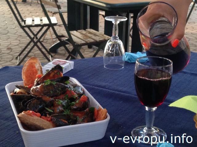 Сардиния. Такие вот порции