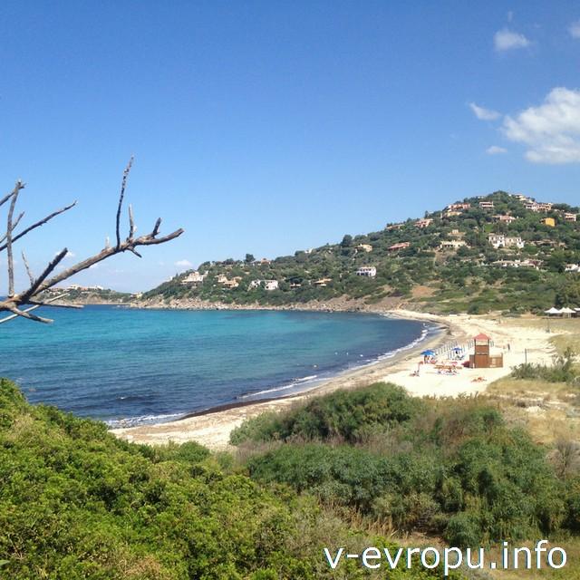 Сардиния. Наш пляж