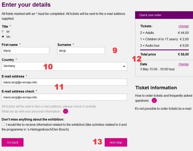Как купить билет на выставку Босха в Хертогенбосе