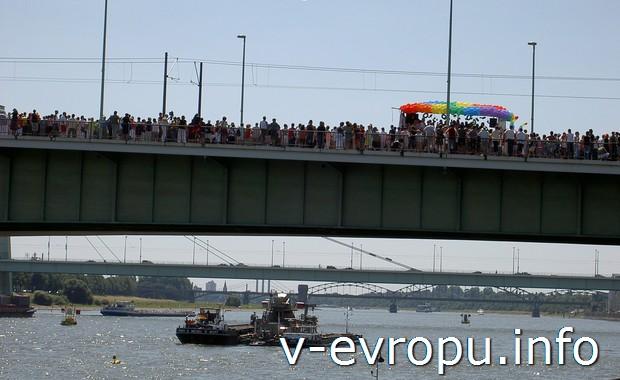 Мост через Рейн в Кёльне