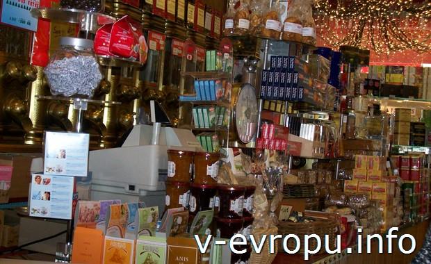 В парижском магазине