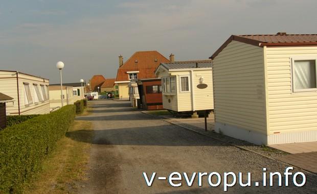 Кемпинг на побережье Балтики в Бельгии