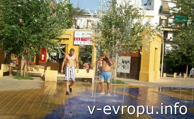 Как переносить жару в Севильи?