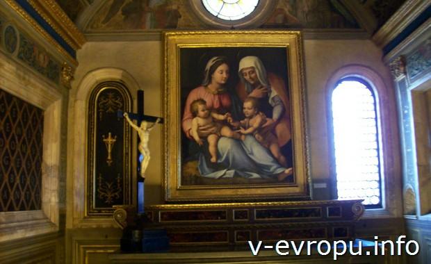Флоренция. Зал в Палаццо Веккьо