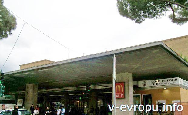 Жд вокзал Флоренции Ferenze S.M.N