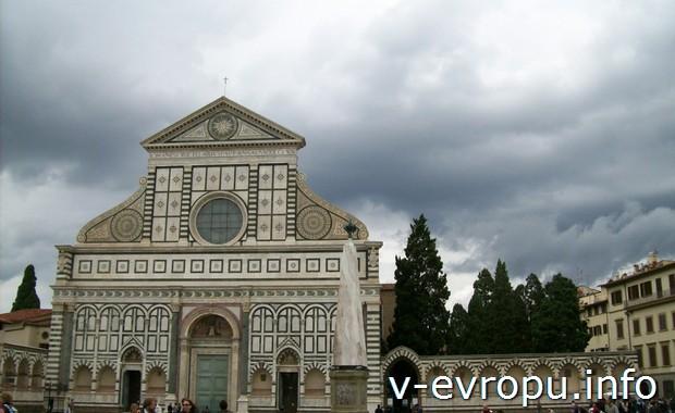 Флоренция. Фасад Santa Maria Novella