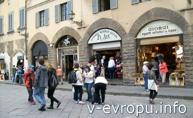 Туристы во Флоренции