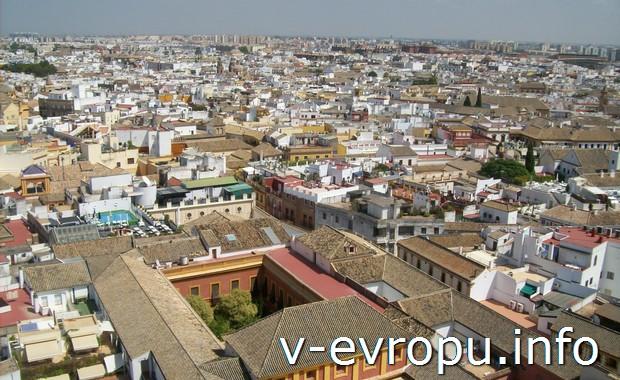 Панорамный вид на Севилью