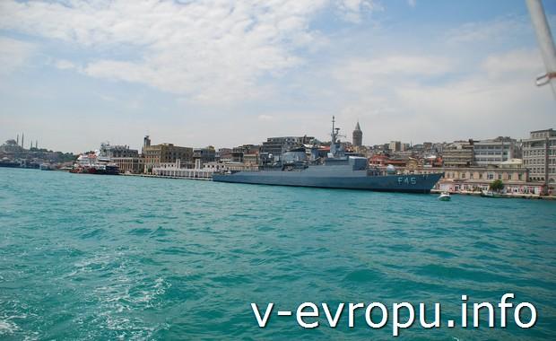 Босфорский залив в Стамбуле